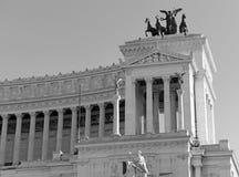 Della Patria Altare, памятник построенный для того чтобы удостоить Виктора Emmanuel, Рима стоковая фотография rf