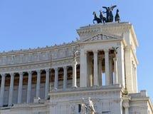 Della Patria Altare, памятник построенный для того чтобы удостоить Виктора Emmanuel, Рима стоковое фото rf