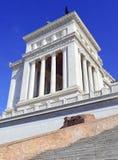 Della Patria Altare, памятник построенный для того чтобы удостоить Виктора Emmanuel, Рима стоковое фото