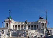 Della Patria (altare di Altare di significato della patria) a Roma Fotografia Stock Libera da Diritti