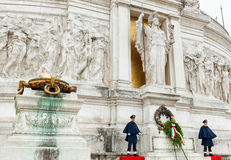 Della Patria d'Altare à Rome Photo libre de droits