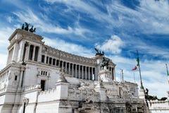 Della Patria di Altare in piazza Venezia Immagine Stock