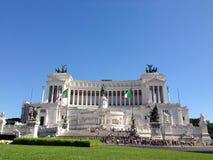 Della Patria di Altare a Roma Immagine Stock Libera da Diritti