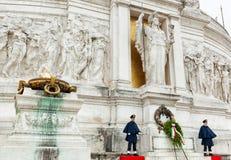 Della Patria di Altare a Roma Fotografia Stock Libera da Diritti