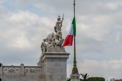 Della Patria di Altare a Roma, Italia Immagine Stock