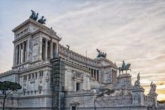 Della Patria di Roma Altare Fotografie Stock