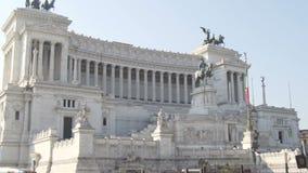 Della Patria, monumento nazionale di Altare a Victor Emmanuel II 05 10 2017 Roma, Italia video d archivio