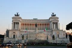 Della Patria o Monumento Nazionale di Altare Vittorio Emanuele II, Roma, Italia Immagini Stock Libere da Diritti
