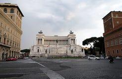 Della Patria, quadrato di Venezia, Roma di Altare Fotografia Stock Libera da Diritti