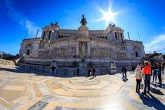 Della Patria, Roma de Altare Imagen de archivo libre de regalías