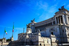 Della Patria, Roma di Altare Fotografia Stock