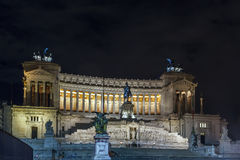 Della Patria, Roma di Altare Fotografia Stock Libera da Diritti