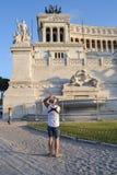 Della Patria, Roma, Italia di Altare Fotografie Stock Libere da Diritti