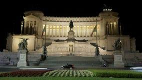 Della Patria, Roma, Italia, Timelapse, 4k de Altare almacen de video