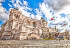 Della Patria Rome d'Altare Photos libres de droits