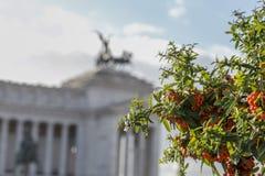 Della Patria Rome van Altare Stock Foto