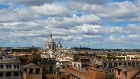 Della Patria, San Carlo al Corso di Altare di vista aerea video d archivio