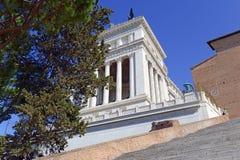 Della Patria, un monumento di Altare costruito per onorare Victor Emmanuel, Roma Fotografia Stock Libera da Diritti
