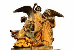 Della Patria Vittoriano Rome Italy di Altare della statua Fotografia Stock Libera da Diritti