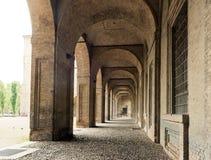Della Pillotta de Palazzo que abriga o teatro de Farnese Imagens de Stock
