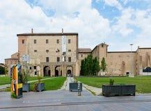 Della Pillotta di Palazzo che alloggia il teatro di Farnese e il natio Fotografie Stock