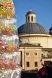 Della Porchetta di Ariccia, еда лета и событие Sagra вина стоковое изображение rf