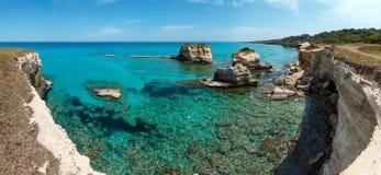 Della Punticeddha, Salento, Italia di Spiaggia Immagine Stock Libera da Diritti