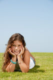 della ragazza giovani abbastanza Fotografie Stock Libere da Diritti