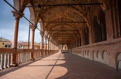 Della Ragione, Padua de Palazzo Fotos de archivo libres de regalías