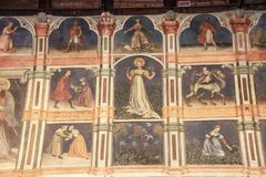 Della Ragione Palazzo стоковая фотография