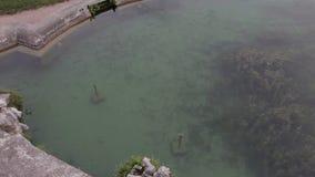 Della Reggia di Caserta Lagoas com peixes vivos filme