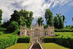 Della Regina de villa à Turin, Italie. photos libres de droits
