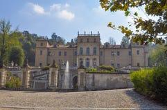 Della Regina della villa a Torino fotografie stock libere da diritti