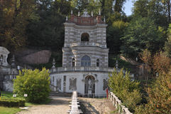 Della Regina della villa a Torino fotografie stock
