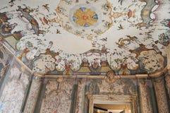 Della Regina della villa a Torino fotografia stock libera da diritti