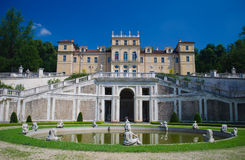Della Regina van de villa in Turijn, Italië Stock Fotografie