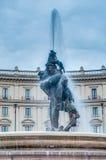 Della Repubblica πλατειών στη Ρώμη, Ιταλία Στοκ Εικόνες