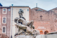 Della Repubblica πλατειών στη Ρώμη, Ιταλία Στοκ εικόνα με δικαίωμα ελεύθερης χρήσης