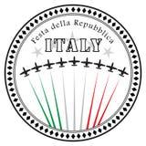Della Repubblica de Festa Images stock
