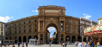 Della Repubblica de Piazza Images stock