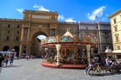 Della Repubblica de Piazza Photo stock