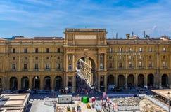 Della Repubblica de Piazza d'en haut images stock