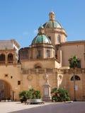 Della Repubblica, Mazara del Vallo, Sicilia, Italia de la plaza Imágenes de archivo libres de regalías