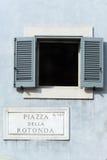 Della Rotonda πλατειών Στοκ φωτογραφία με δικαίωμα ελεύθερης χρήσης