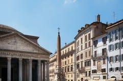 Della Rotonda da praça, Roma, Itália Fotos de Stock Royalty Free