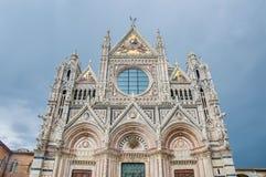 Della Scala de Santa Maria em Siena, Toscânia, Italy Fotografia de Stock Royalty Free