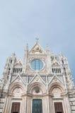 Della Scala de Santa Maria, uma igreja em Siena, Italy Foto de Stock