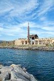 Della Scienza Neapels Città nach Feuer Lizenzfreie Stockfotografie