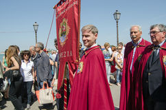 Della Sensa, παρέλαση Festa Στοκ Εικόνες