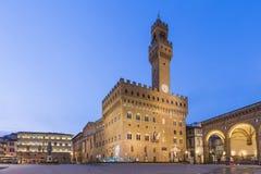 Della Signoria de la plaza en Florencia, Italia Fotos de archivo libres de regalías